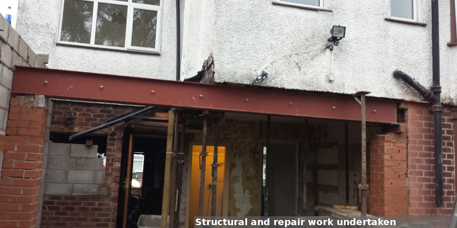 Structural work and repairs